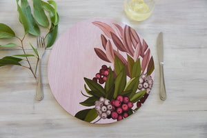 Banksia Blue - Australian Native Table Placemats - Lilly Pily
