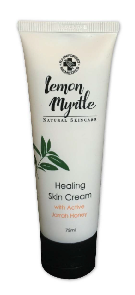 LEMON MYRTLE SKIN CREAM WITH ACTIVE JARRAH HONEY 75ml