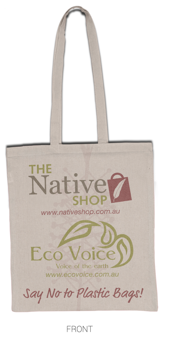 The Native Shop & Eco Voice Tote Bags - PREORDER