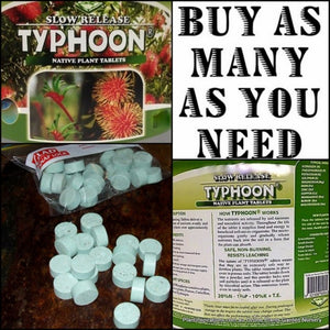 TYPHOON NATIVE FERTILIZER TABLET - 100 TABLETS