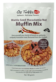 OZ TUKKA PRODUCTS - WATTLE SEED MUFFIN MIX - GLUTEN FREE