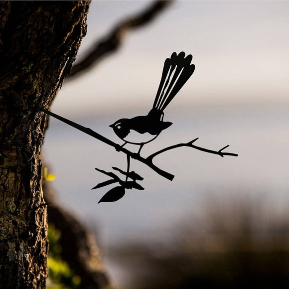 Willie Wagtail Metalbird Art