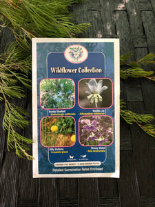 Seeds from Tasmania - Wildflower Collections (OVERSEAS OPTION NO GST)