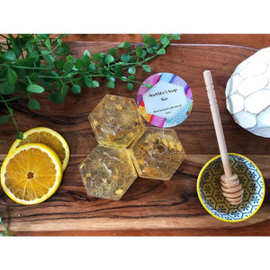 Sweet Orange & Honey Beehive Handmade Soap