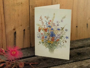 AUSTRALIAN NATIVE WATER COLOUR CARDS (Bunches)