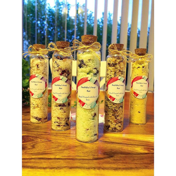 Handmade Bath Salt Test Tubes