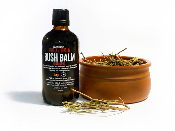 Irmangka Irmangka Bush Balm® Organic Hemp Seed Oil - 100ml