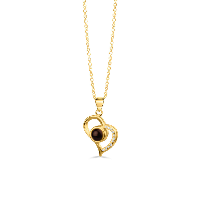 I Love You Mom Projection Necklace