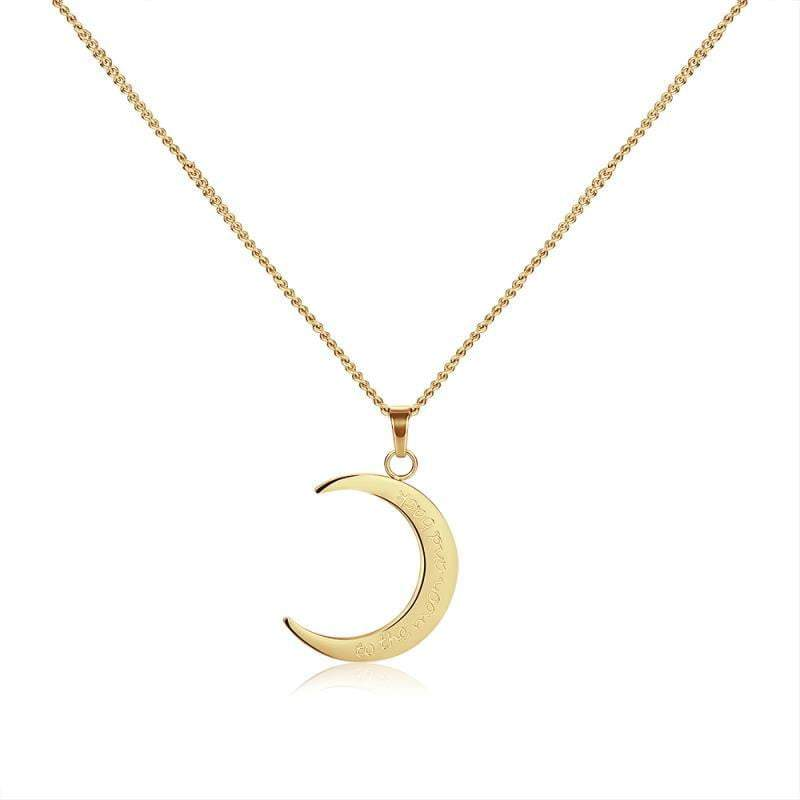 Gold Sun & Moon Set