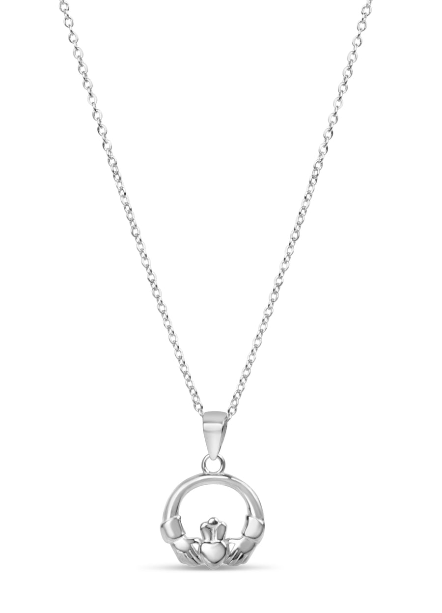 Round Claddagh Necklace