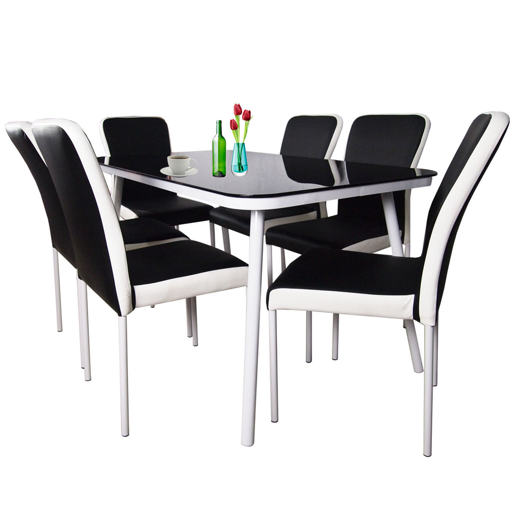 Giselle 6 Chair Dining Set