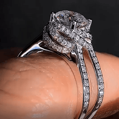 Glamour Knot Fashion Ring