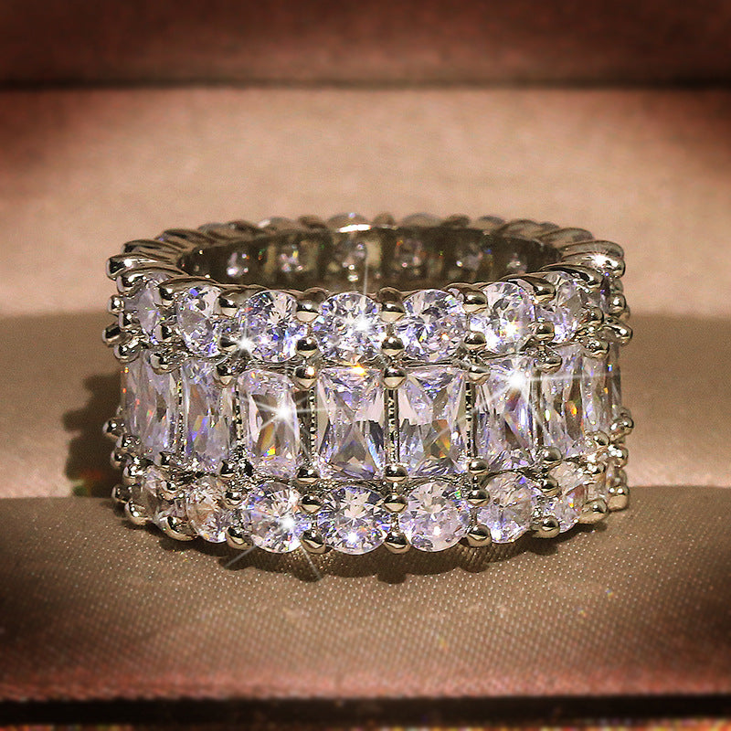Angelic Charm Grand Studded Ring