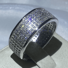 Pave Setting 4-Row Wedding Band (Special Pricing)