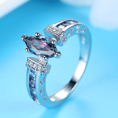 Colorful Horse Eye Ring
