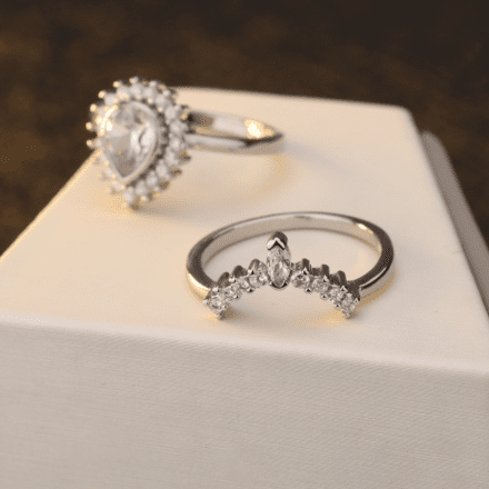 Matching Regal Crown Ring