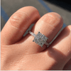 Image of Square Shaped  Engagement Ring