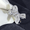 Image of Charming Bow Engagement Ring