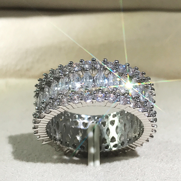 """Enchantment"" Luxury Pavé Ring"