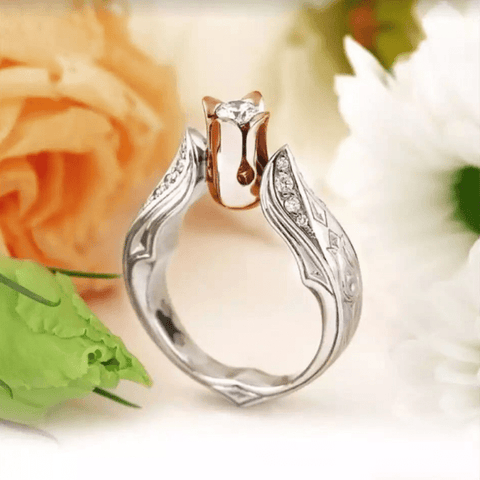 Rose Gem Ring