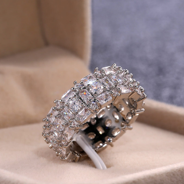 Dream Big Beaded Band Ring