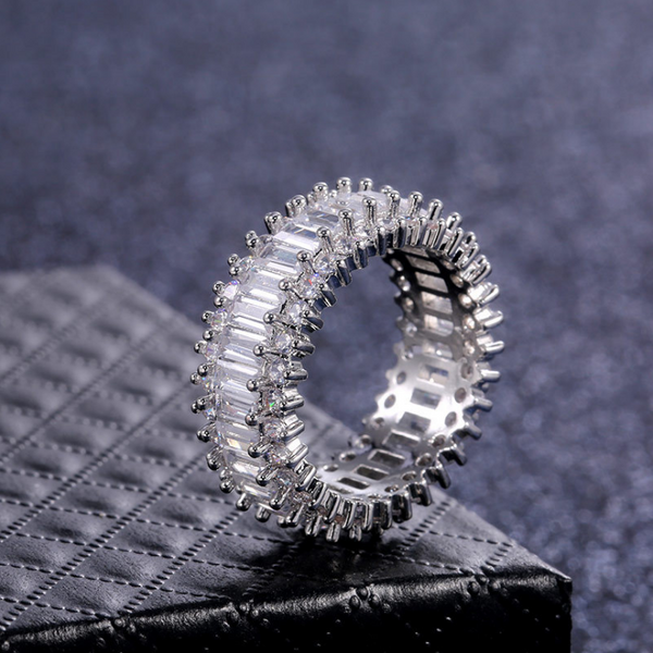 Stacked Baguette Fashion Ring