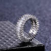Image of Stacked Baguette Fashion Ring