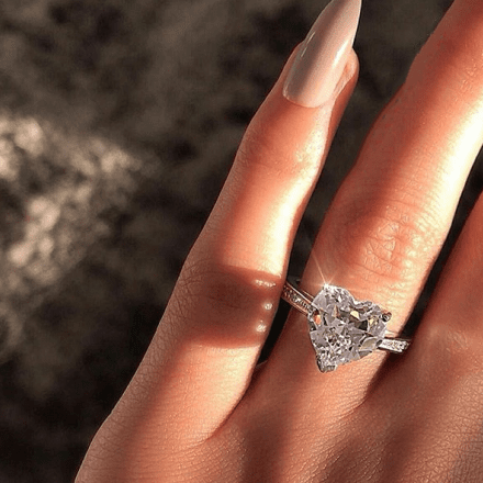 Take My Heart Engagement Ring