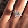 Image of Take My Heart Engagement Ring (Special Pricing)