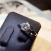 Image of Exquisite Sparkling Engagement Ring