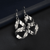 Image of Women's Frosted Weave Earrings