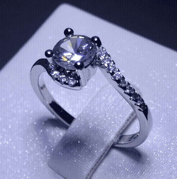 Exquisite Bypass Ring