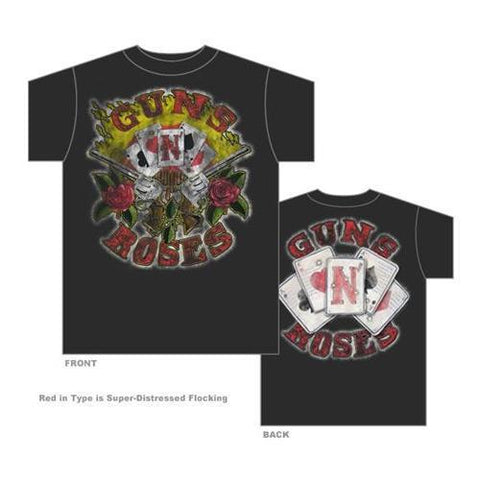 Guns N' Roses | Vintage Cards T-Shirt