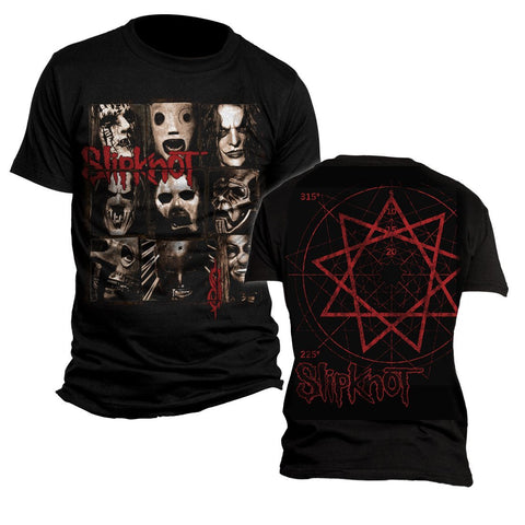 Slipknot Mezzotint - Mens Black T-Shirt