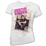 Justin Bieber Bench - Womens White T-Shirt