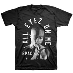 Tupac Shakur Pray Arch - Mens Black Necklace