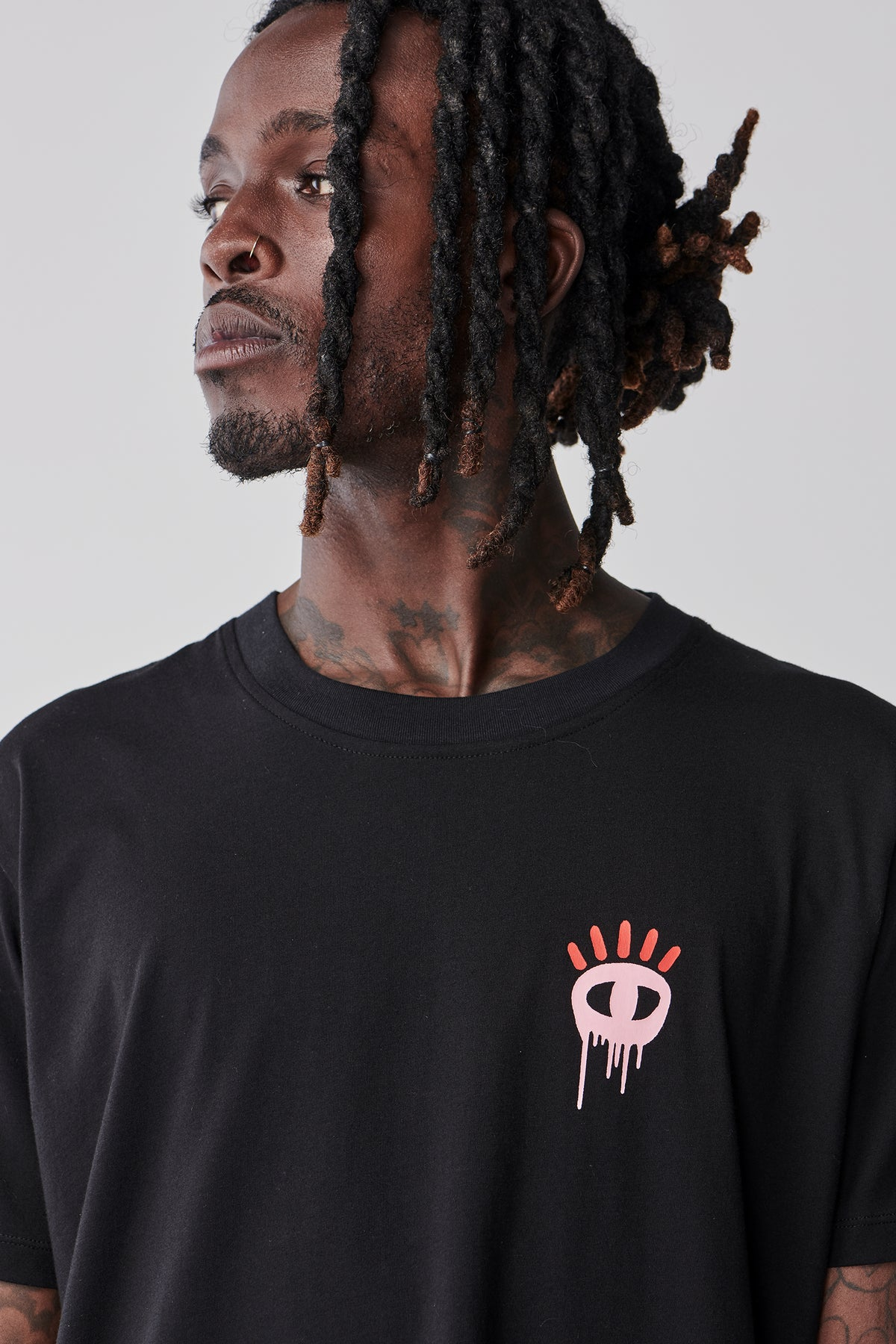 Drippy T Shirt - Black