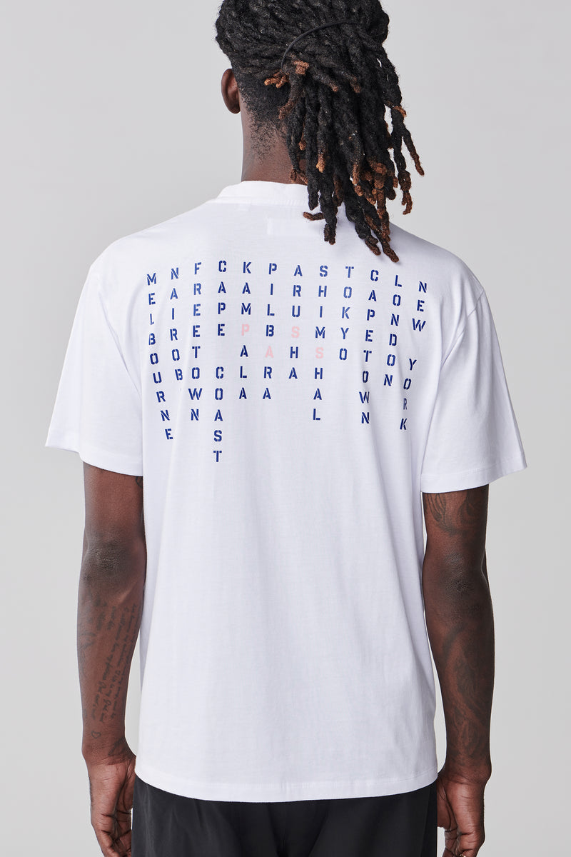Places T Shirt - White