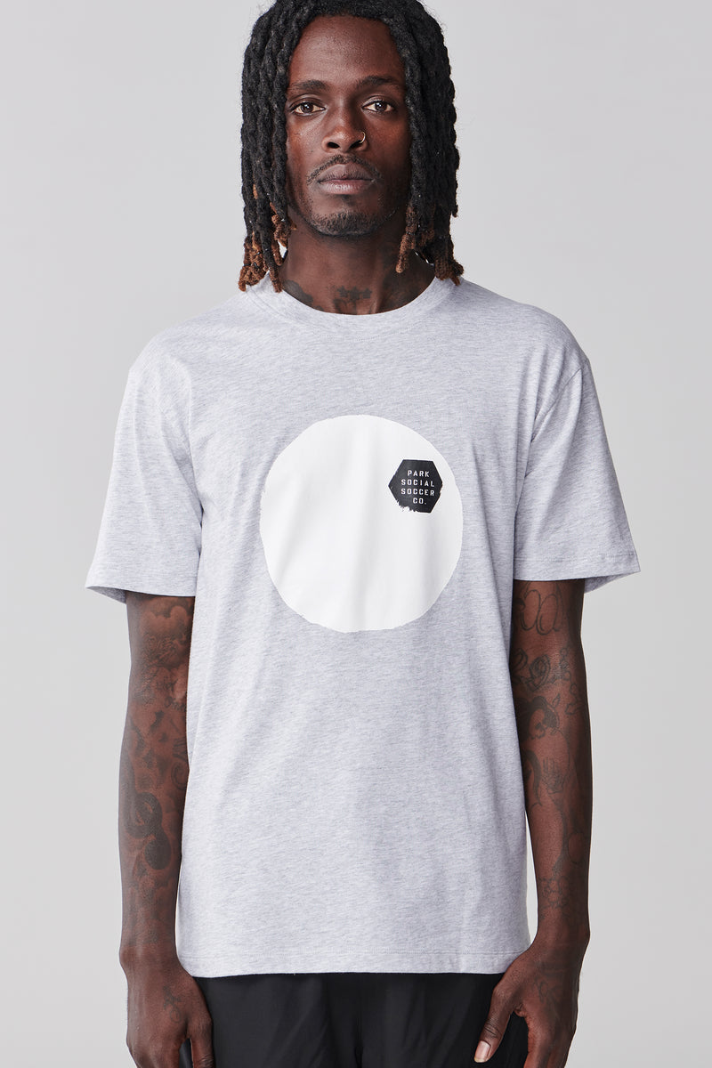 Simple Game T Shirt - Grey Marle