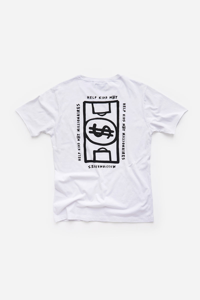 Money Ball T Shirt - White