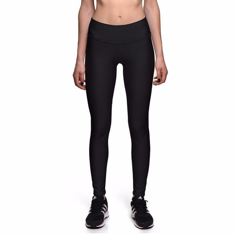 Jeggings elásticos negros.
