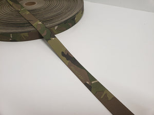 "MMI 1"" inch Multicam Double-Sided Webbing Type-3 A-A-55301"