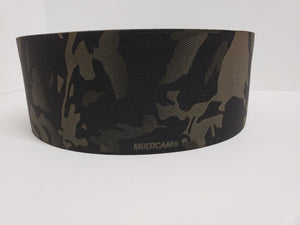 "MMI 4"" inch Single Sided Crye Multicam Black Elastic Webbing"
