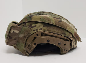 A&A Tactical, LLC Team Wendy EXFIL LTP/Carbon Hybrid Helmet Cover BPR (Battery Pack Ready) Version
