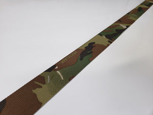 "Texcel 1.5"" inch Multicam Double-Sided Webbing MIL-W-17337"