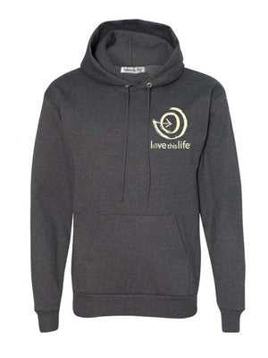 Unisex Love This Life Manifesto Pullover Hoodie - Charcoal Grey - #lovethislife