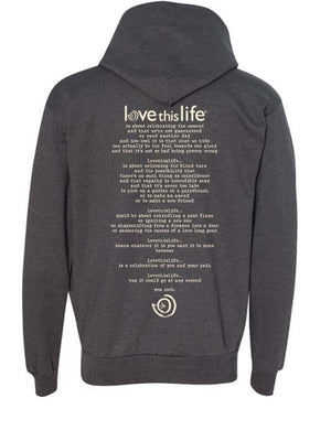 2Paths Unisex Full Zip Hooded Sweatshirt2Paths lovethislife, iamlovethislife, love this life, David Culiner, manifesto, ltl