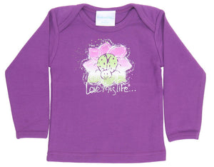 Lady the Ladybug Lap Tee L/S - lovethislife, iamlovethislife, love this life, David Culiner, manifesto, ltl