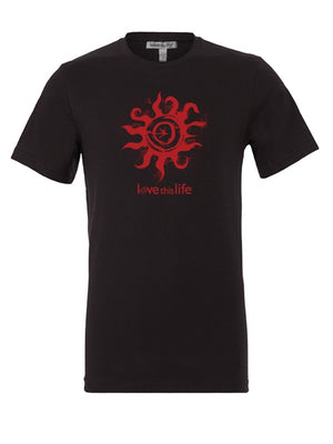 Midnight Sun Men's Tee - lovethislife, iamlovethislife, love this life, David Culiner, manifesto, ltl