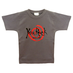 Kid's You Rock Youth Tee - lovethislife, iamlovethislife, love this life, David Culiner, manifesto, ltl